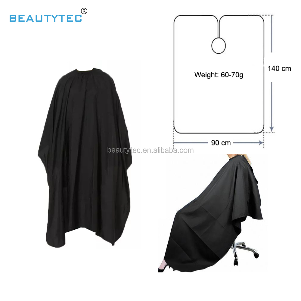 Beauty tec 90*140 electric hair dryer pattern salon makeup Hairdressing Barber Design Hair Cutting Cape