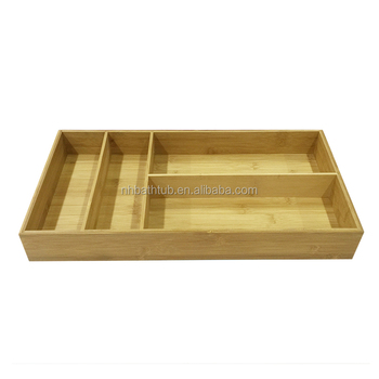 Multifunctional eco-friendly storage box for knives and forks