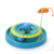 2019 new design hot selling intelligence Cat Tower double Layers of Tracks crazy cat swim disc