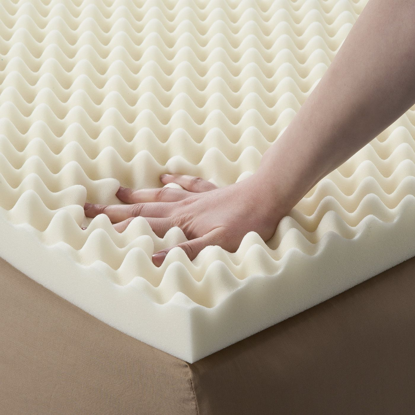 Luxury Hotel Massage Gel Memory Foam Mattress Topper - Jozy Mattress   Jozy.net