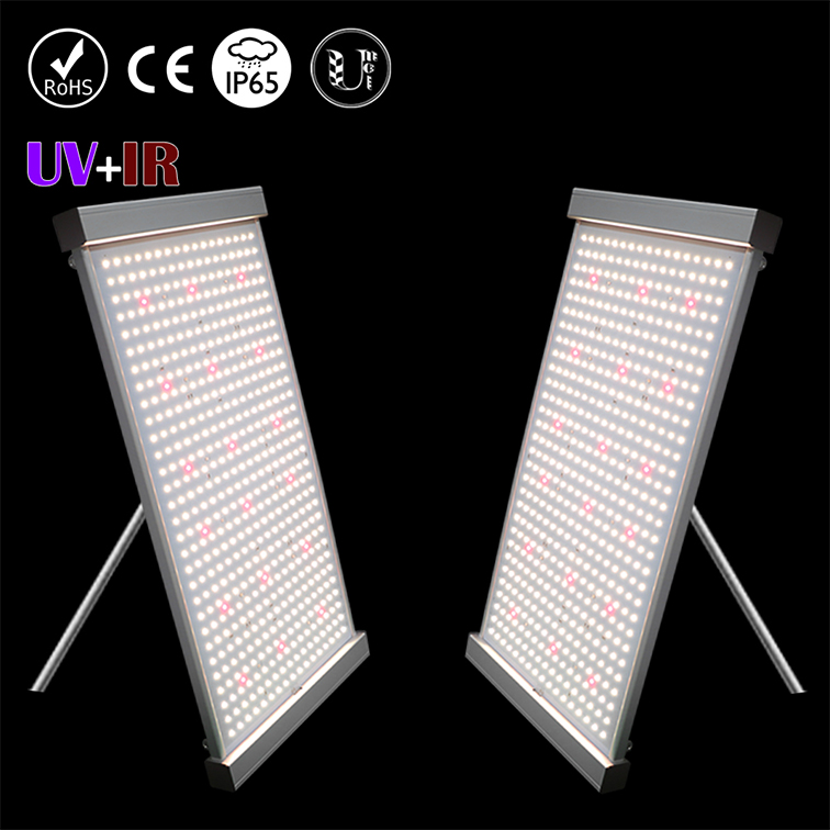 Made in China <strong>2</strong> channels spectrum Samsung lm301h UV IR QB ultra-thin qb grow light <strong>2</strong>.8umol/<strong>j</strong> 150w 100w panel