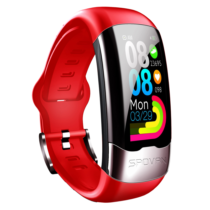 <strong>H02</strong> New Fashion Smart Sports Bracelet ECG+PPG+HRV Support iOS ANDROID System Wrist Strap