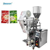 50g 100g 200g Popcorn / Nuts Snack Food Packing Machine