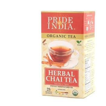 Organic Herbal Chai Tea (Decaf) (25ct)