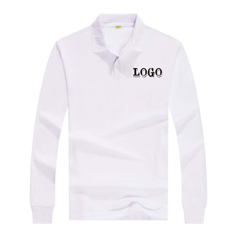 Wholesale surplus mens blank long sleeve polo shirt with printing <strong>logo</strong>