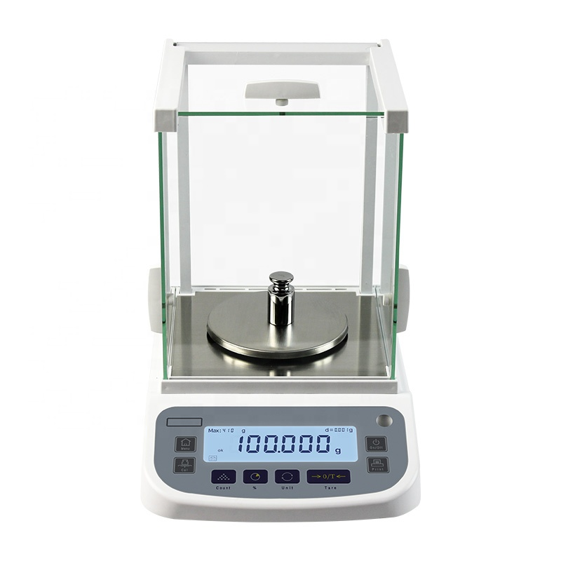 0.001g 410g External Calibration Laboratory Balance scale Analytical Weighing Balance for Laboratory/Jewelry Weighing