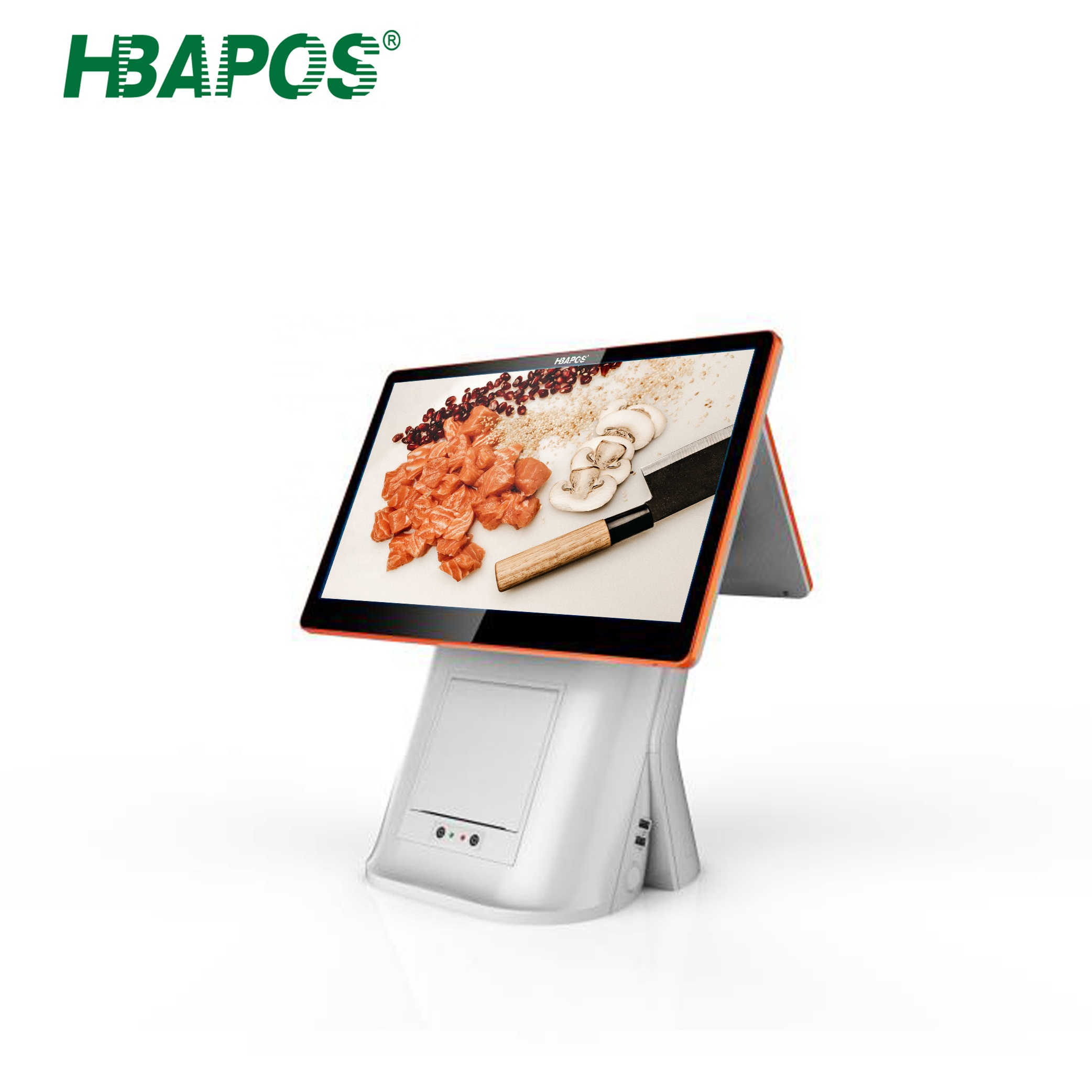 China 15.6 inch Capacitive Touch Screen All in One POS Terminal <strong>System</strong> with Printer