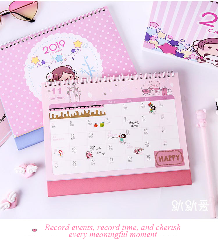 High quality Desk Calendar for Promotion and advertising