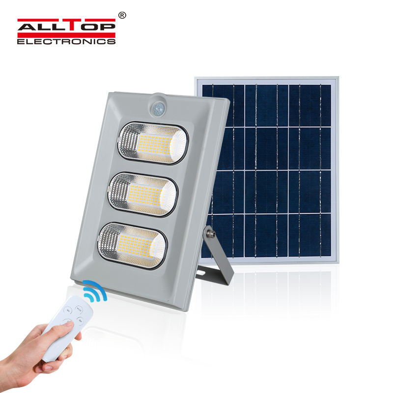 ALLTOP High lumen Bridgelux SMD Outdoor Waterproof IP65 ABS 50w 100w 150w solar led flood <strong>light</strong>