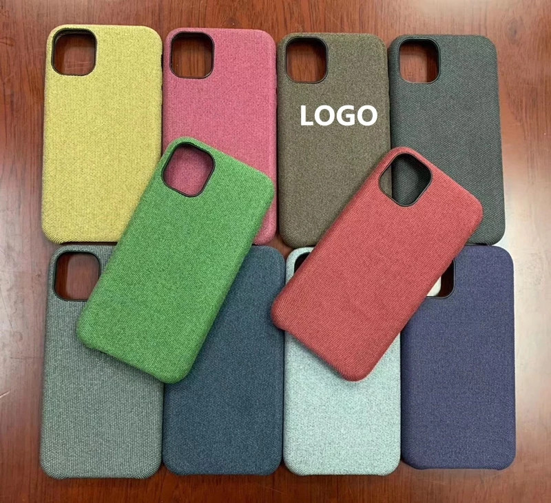 soft leather for iphone 11 pro max case cloth fabric cell phone,for iphone 11 case <strong>jeans</strong>