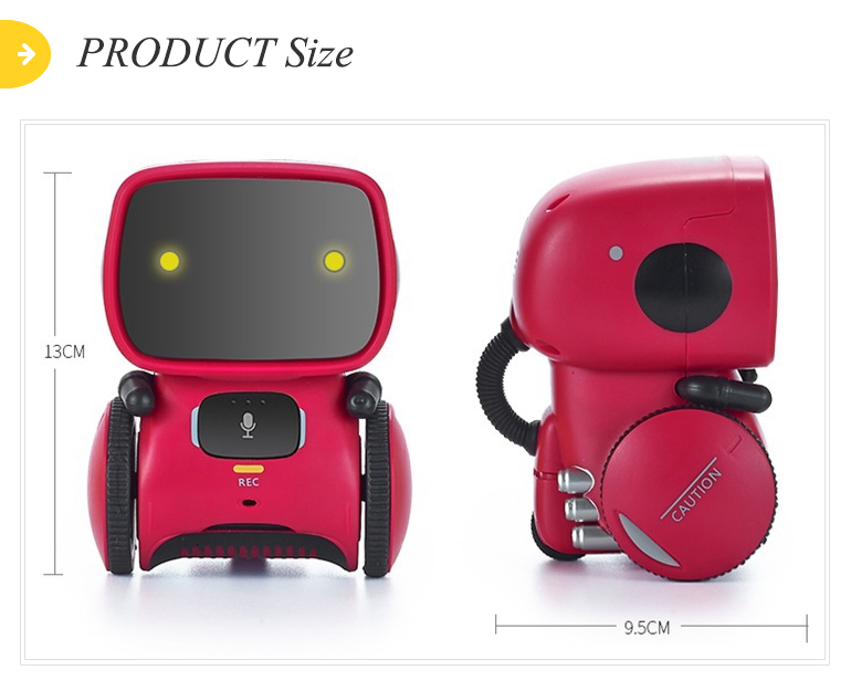 Intelligent preschool learning machine enlightenment interactive ai robot toy