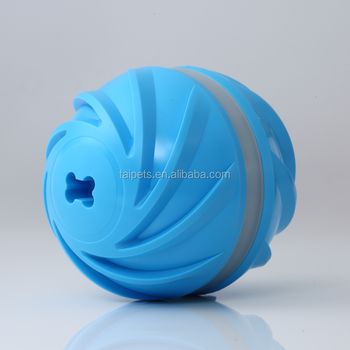 USB rechargeable Automatic smart Interactive dog toy Motion Activated Automatic LED Rolling cat dog crazy wicked ball