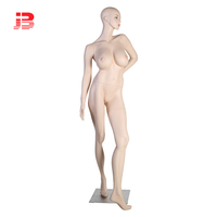 Wholesale skin color full body lifelike sexy female mannequin