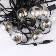 <strong>LED</strong> Garden String Lights Solar Outdoor Lighting With G40 Bulbs
