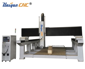 affordable large size wood pattern making cnc machine with auto tool change ATC