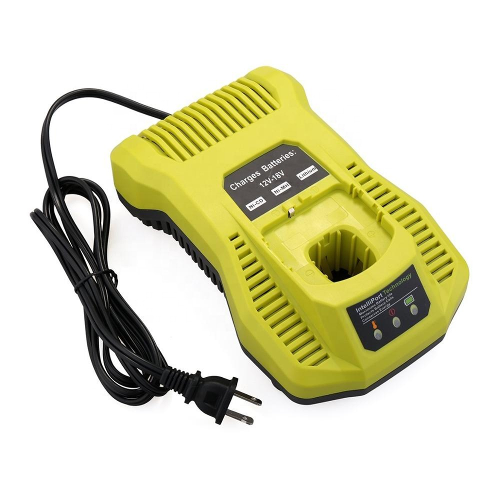 Replacement charger P117 P118 Compatible with Ryobi 12V 18V One+ Plus NiCd NiMh Lithium Battery <strong>P103</strong> P105 P107 P108