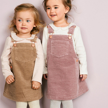 England Style Children Clothing Sleeveless Straight <strong>Dress</strong> <strong>Girls</strong> Strap <strong>Dress</strong>