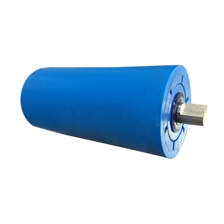 High seal noise reduction belt uhmwpe rubber conveyor <strong>rollers</strong>