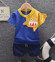 100% cotton boy 2 piece suit kids simple <strong>children</strong> clothing <strong>set</strong>