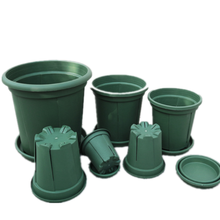 Eco-friendly garden round nursery plastic garden plant flower pot