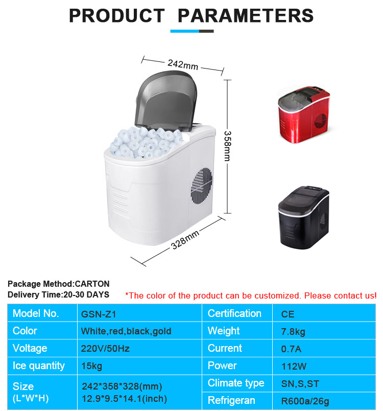High quality home portable car mini slush ice maker, small ice makers machine/commercial ice maker