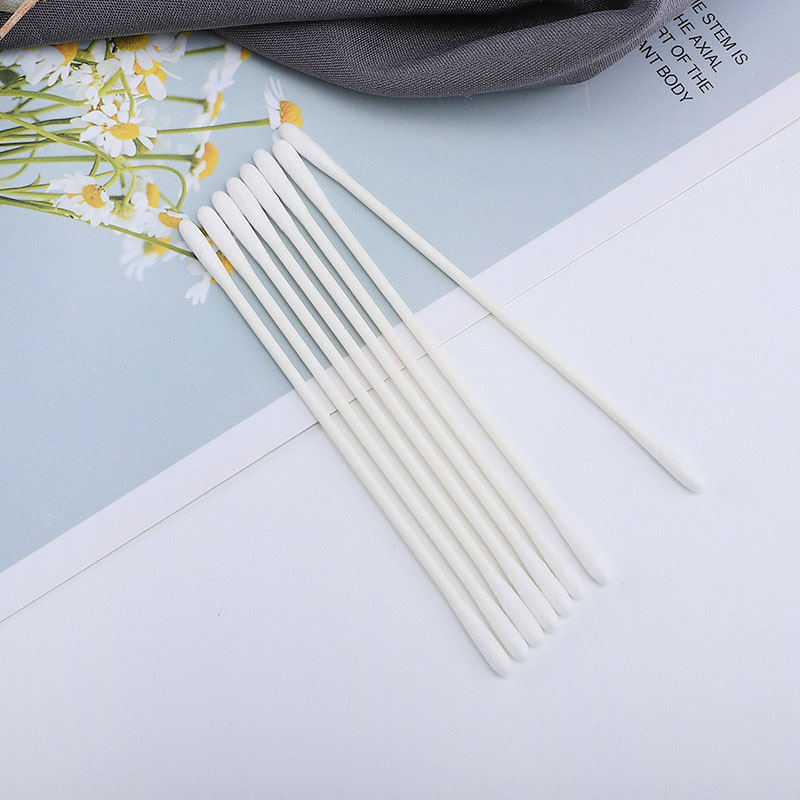 China manufacturer disposable clean cotton paper stick swab for industry