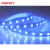 5V SMD5050 RGB 60led/m 5m/lot white PCB backlight led strip with self adhesive tape back
