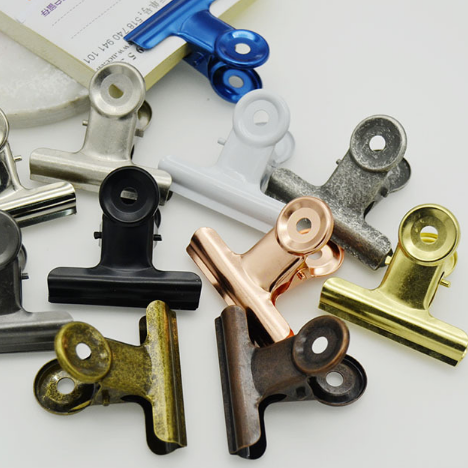 High End Thick Brass Plating Stainless steel Paper <strong>Clips</strong>