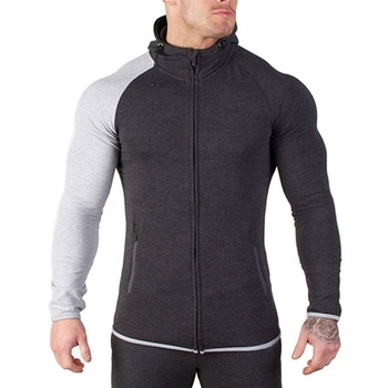 New Men Custom Casual Blank Bulk Zip Hoodies Plain Sports Wear Gym Zip up Hoodies