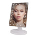 New 22 LEDs Touch Screen Desktop Lighted Makeup Mirror