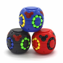 Creative Decompression Toys Hamburg Magic Cube Rubik's Little Magic Beans Fingertip Gyroscope Toy Intellectual <strong>Game</strong> For Kids