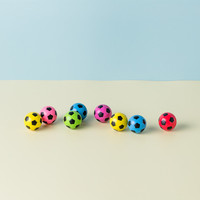 China suppliers multi-colored printed soccer 35mm bouncing custom bouncy balls