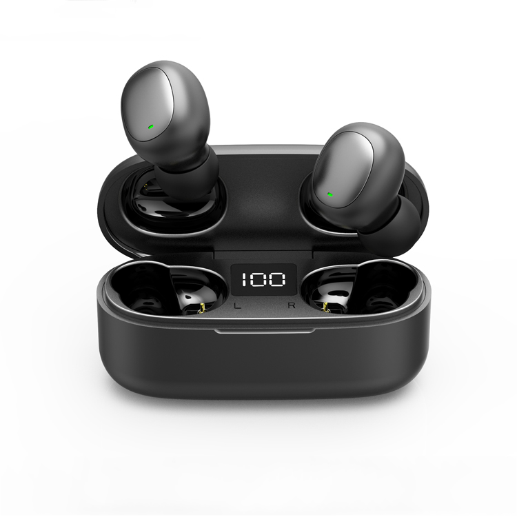 cheapest price LCD display TWS wireless earbuds screen showing battery life PK <strong>X10</strong> E6s i99 F9 G6S J2 WK60 RT15 iT007 M7 ES01