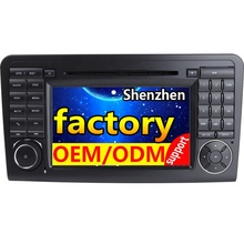 2Din 7inch Android9.0 IPS screen Car <strong>GPS</strong> DVD for Mercedes ML430 ML450 ML500 for Benz ML CLASS <strong>W164</strong> ML350 with2+16/32GB WIFI
