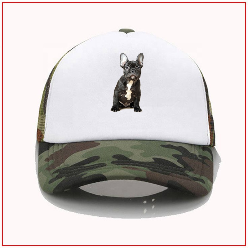 French Bulldog baseball hats yellow <strong>y</strong> baseball hat DIY Design Baseball Sport-<strong>Cap</strong> Hats