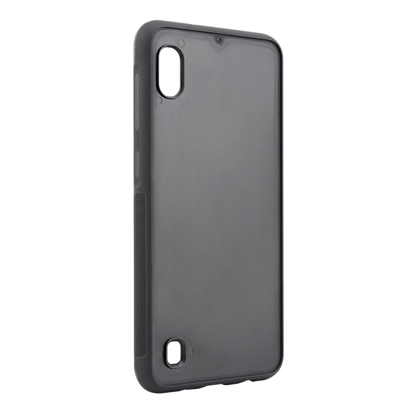 Blank PC TPU Groove Phone Case For Samsung Galaxy <strong>A10</strong>