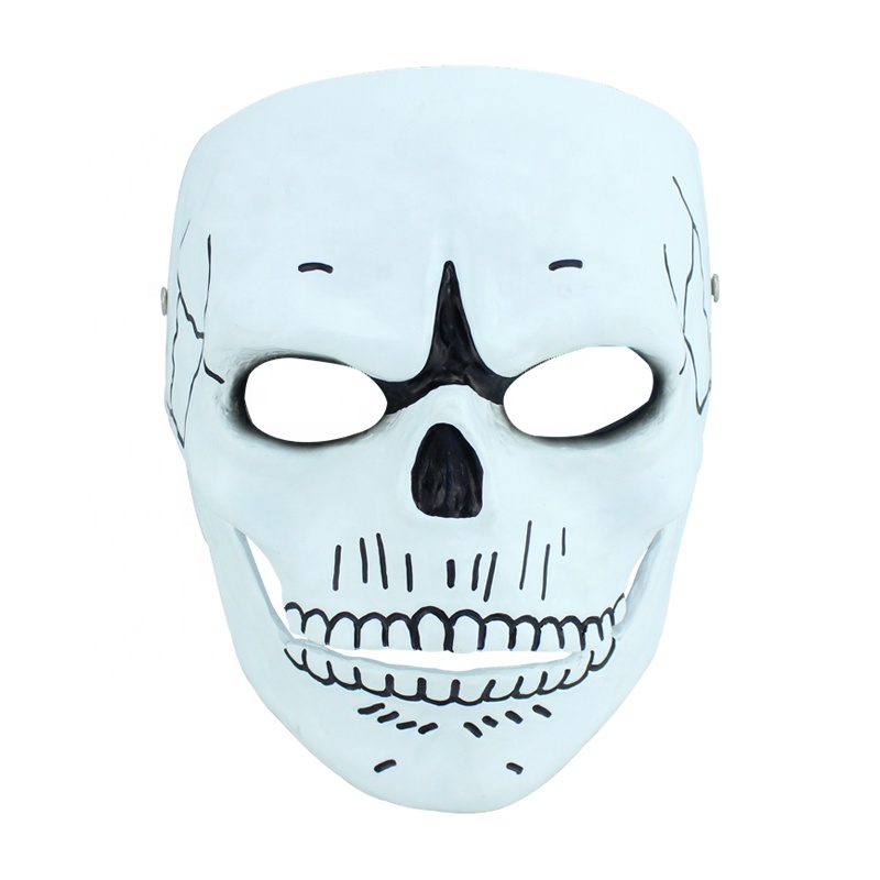 Halloween Tv &amp; Movie Character <strong>007</strong> Spectre Mask Cosplay Accessories Resin Mask