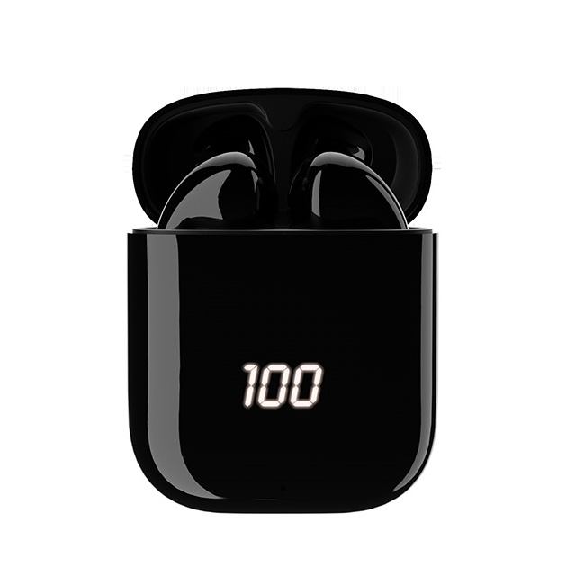 TWS bilateral bluetooth v5.0 earphone <strong>H107</strong> with intelligent charging compartment and digital display of electric quantity