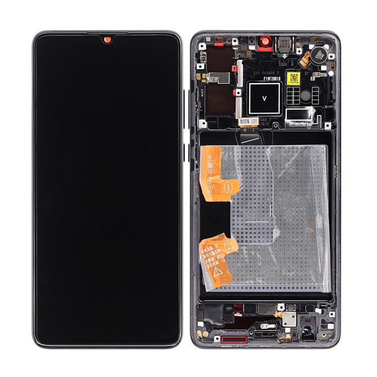 HQ OEM factory price LCD for Huawei p30 p30 pro display with frame