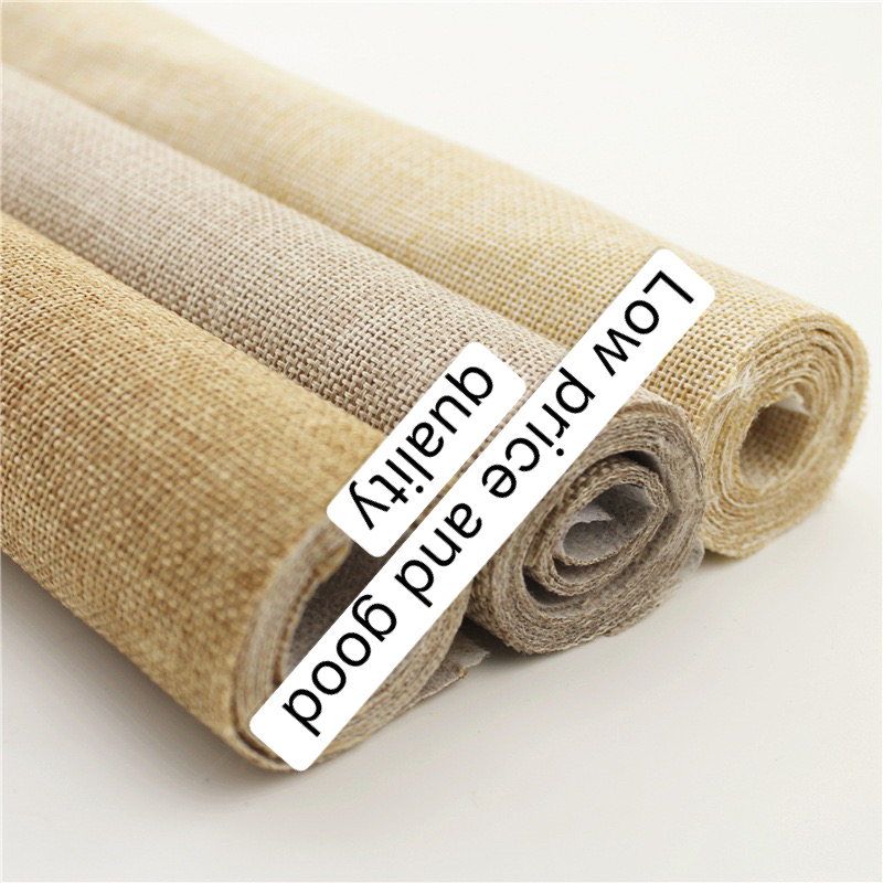 The bundle pocket specialty compound nonwoven cloth base imitation linen USES in the pillow sofa curtain table <strong>material</strong>