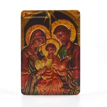 Home Decoration Orthodox Items Holy Family Icons <strong>Fridge</strong> <strong>Magnet</strong> Cheap Solf 3D <strong>Magnet</strong>