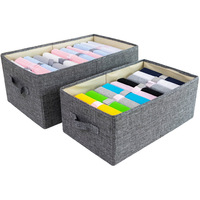 Foldable Storage Boxes Bins Fabric Cube Storage Box Bin Basket Containers Organizer