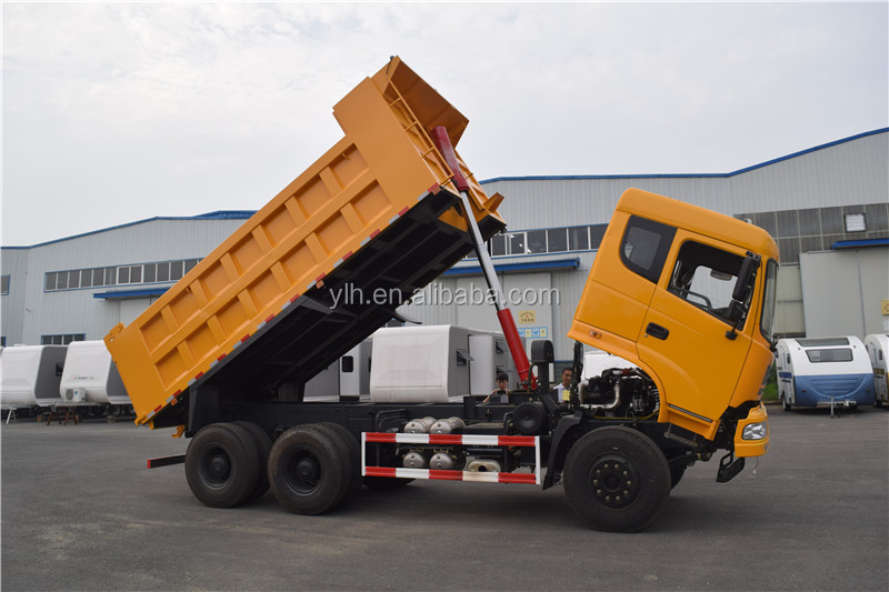 China diesel 20t tipper truck volume capacity for sale