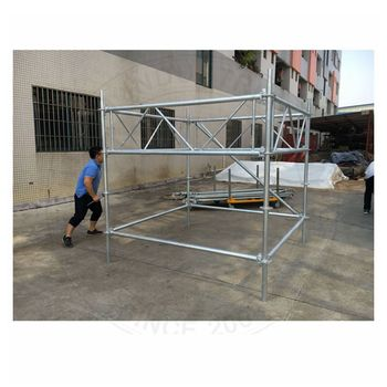 Layer tower truss system for sale , concert scaffolding truss system