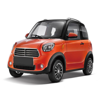 Cheap Autos Electric car Para Adultos 2019 Elektro Car Carro Electric Adult Three Seater Solar Mini Car Price