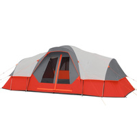 "11 Person Family Camping Tent 18' x 9' x 74""(H) 4 Season"