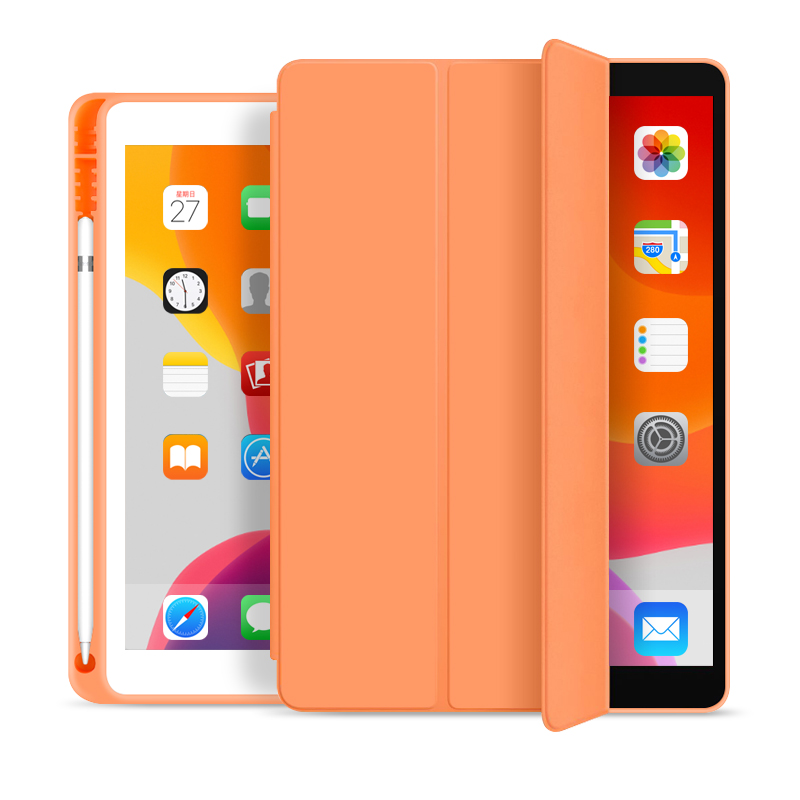 New 10.2 inch Case for <strong>iPad</strong> Pencil Holder Trifold Smart Ultra Slim PU Leather Case for <strong>iPad</strong> 7th Generation Cases
