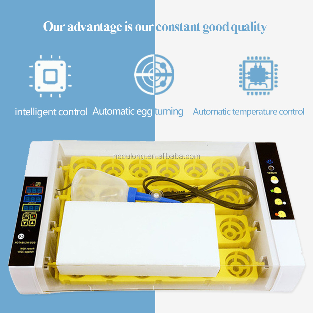 Cheap automatic mini poultry repitle 24 chicken egg incubator