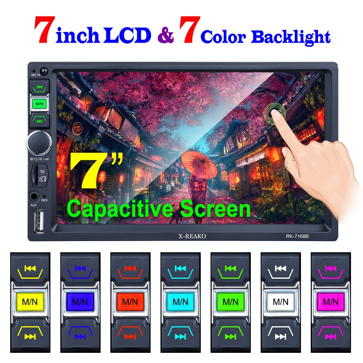 2020 New Arrival Factory Wholesale 7 Inch HD LCD-TFT Touch Screen 2 Din Autoradio DAB DAB+ Radio Car Player