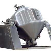 Double conic rotary vacuum dryer